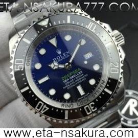 huge selection of fb363 67bfe ROLEX ロレックス シードゥエラー ディープシー Dブルー 116660 ...